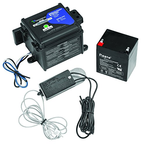 Tekonsha 50-85-325 Shur-Set III Breakaway System with LED Test Meter, Battery, Switch and Charger (Trailer Break Away Kit compare prices)