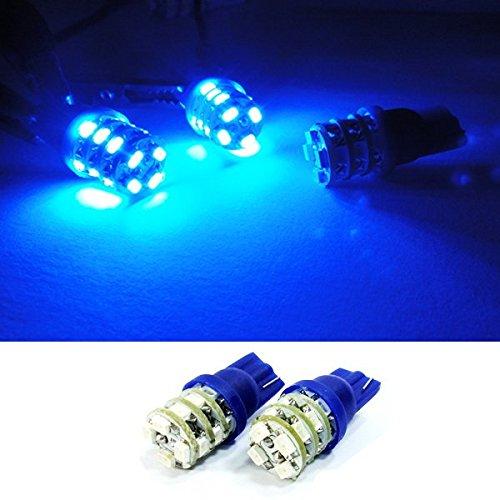 LEDIN BLUE T10 16 SMD LED Map Light 168 194 Bulb Allure Coupe