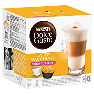 Get Nestle 'Latte Macciatto Light' dolce gusto coffee pods from NESTLE