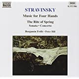 Stravinsky: Music for Two Pianos (Music For Four Hands)