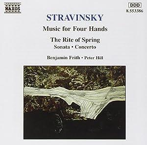 Strawinsky Klavier Musik für 2 Klavier