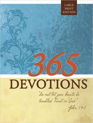 365 Devotions Large Print Edition