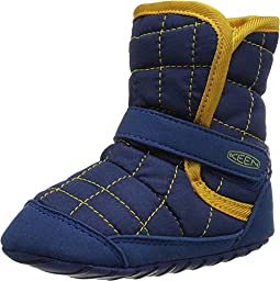 Keen Kids Baby Boy\'s Rover Crib (Infant) Estate Blue/Keen Yellow Boot 24 Months M