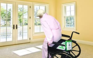 Fall Prevention for Elderly, Soothing Voice Recordable Chair Alarm and Chair Sensor Pad - Smart Caregiver item VC1-SYS