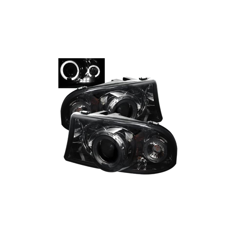 Dodge Dakota / Durango 1Pc Halo Projector Headlights / Head Lamps