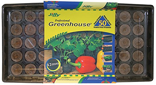 Jiffy 5718 Professional Greenhouse 50-Plant Starter Kit primary