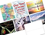 24 Sobriety Anniversary Note Cards - 6 Designs - White Envelopes Included