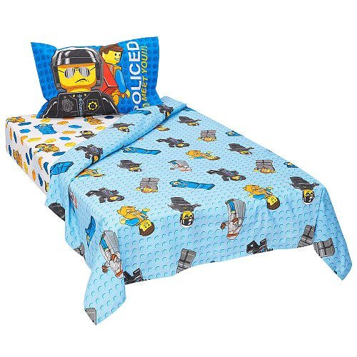 Lego Movie 3-Piece Twin Sheet Set - Frenzy front-896167
