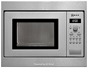 Neff H53W50N3GB 800W 17L Built-in Microwave Oven For A 50cm Wide Cabinet Stainless Steel