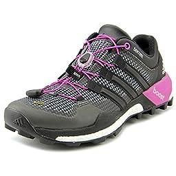 adidas Outdoor Terrex Boost Trail Running Shoe - Women\'s Vista Grey/Black/Flash Pink 6.5