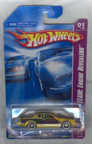 Hot Wheels 2008-153/196 BUICK GRAND NATIONAL 1 of 4 1:64 Scale - 1