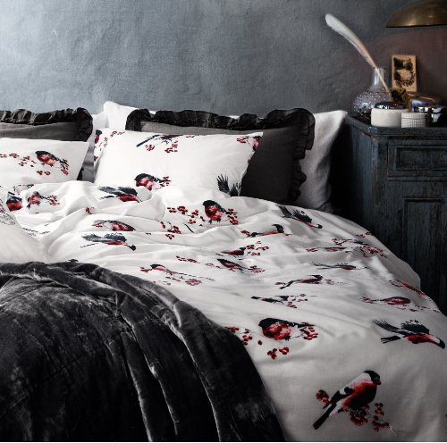 Black And White Vintage Bedding front-825368
