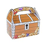 Treasure Chest Goodie Treat Boxes Pirate Birthday Theme Loot Favor Box By Super Z Outlet