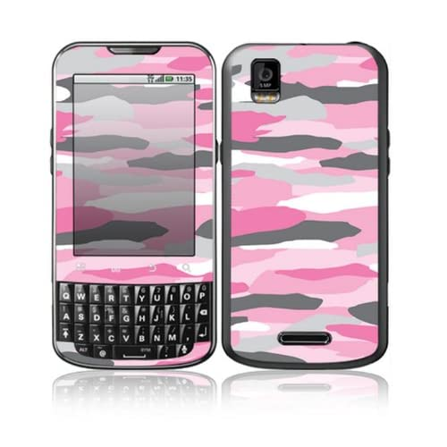 Pink Camo Design Decorative Skin Cover Decal Sticker for Motorola Droid XPRT Cell Phone
