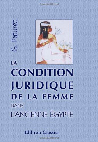 la condition juridique de la femme dans l 39 ancienne egypte avec une lettre a l 39 a ebay. Black Bedroom Furniture Sets. Home Design Ideas
