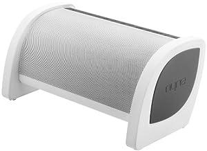 NYNE Multimedia Inc Bass Portable Bluetooth Speaker (White/Grey)