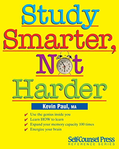 Study Smarter, Not Harder: Use the genius inside you....