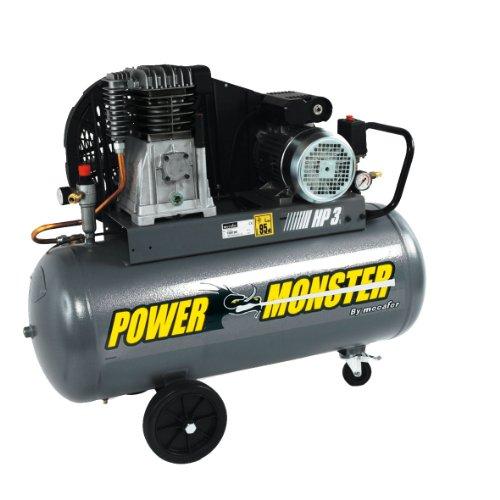 power monster 425193 compresseur 100 l 3 hp mono. Black Bedroom Furniture Sets. Home Design Ideas