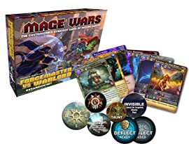 Mage Wars Forcemaster vs. Warlord Expansion Board Game