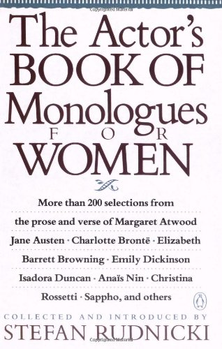 The Actor's Book of Monologues for Women, Various