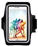Amazon.co.jpBengoo スポーツアームバンド スマートフォン用 ランニング ウォーキング サイクリング ジョギング Galaxy S6 iPhone6S 6plus 5.5インチ 5 5s iPod 対応 ブラック