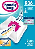 Handy Bag R 36 Vacuum Cleaner Bags for Rowenta Artec 2 Silence Force Vacuum Cleaners