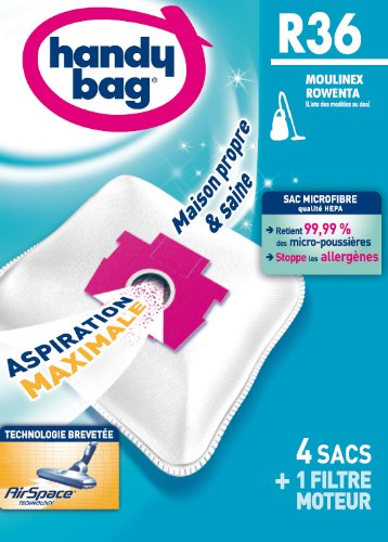 Aspirateur accessoires handy bag r 36 sac aspirateur - Sac aspirateur rowenta artec 2 ...