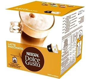 Nescafé Dolce Gusto Latte Macchiato (16 Capsules)