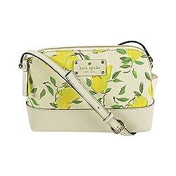 Kate Spade Wellesley Lemon Fabric Hanna Crossbody Bag Pntrlylemons