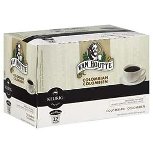 Van Houtte Medium Roast 100% Columbian Coffee, 12-Count K-Cups for Keurig Brewers (Pack of 3)