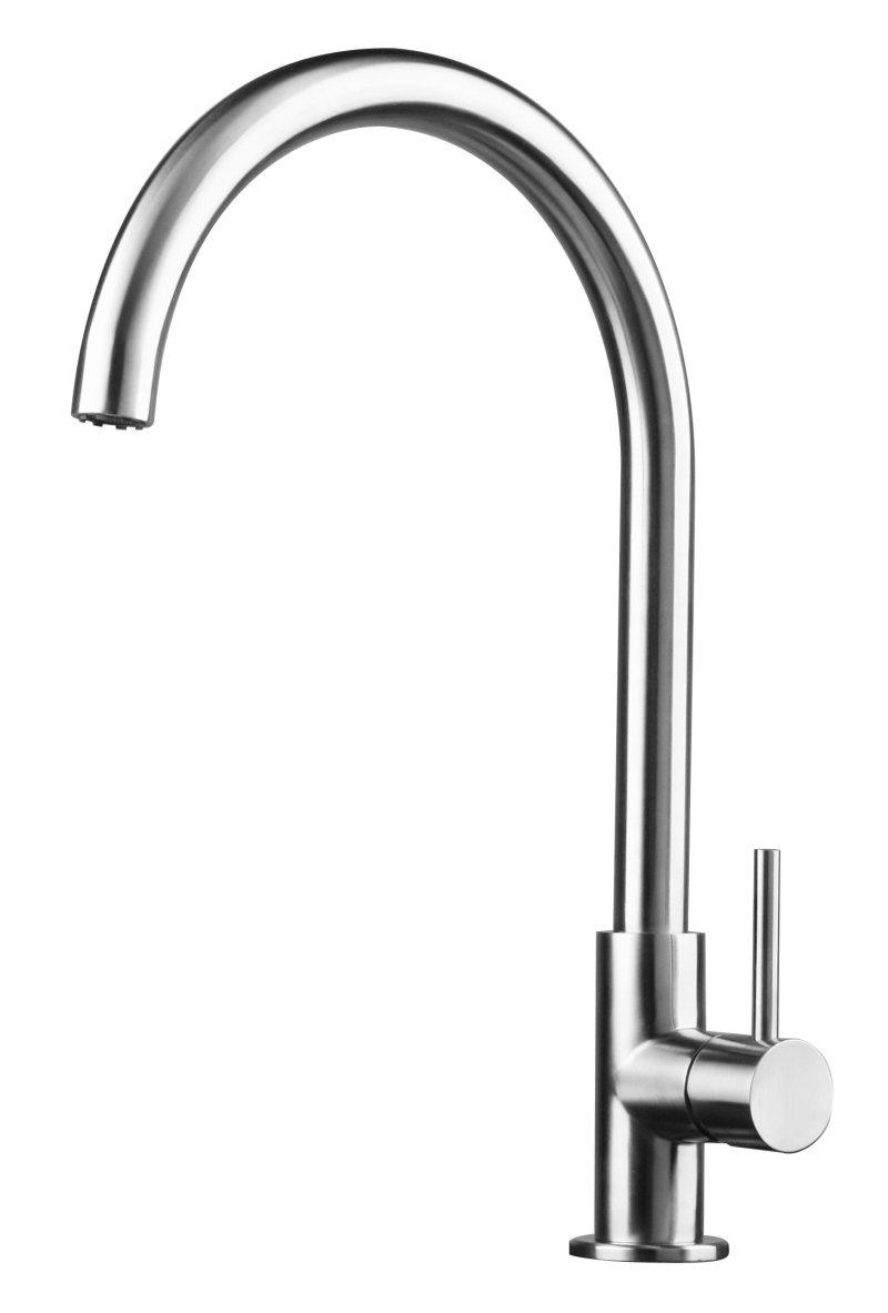 Edelstahl Küche / Bad / Spültisch / Waschtische Armatur gebürstet matt 63d   Überprüfung und weitere Informationen
