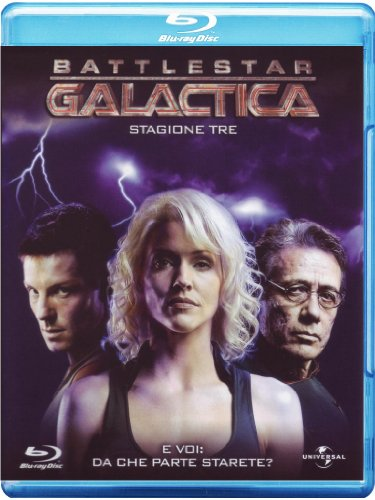 Battlestar Galactica Stagione 03 [Blu-ray] [IT Import]