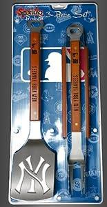 New York Yankees 3-piece Set Sportula Set Grilling Tailgating Tools MLB Spatula