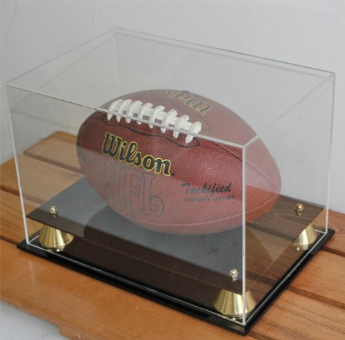 Football Display Case Holder with 98% UV Protection Acrylic cover (AC-FB05)