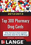 img - for 2012-2013 Top 300 Pharmacy Drug Cards (LANGE FlashCards) 1st (first) by Kolesar, Jill M., Vermeulen, Lee (2012) Paperback book / textbook / text book