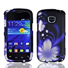 Samsung illusion I110 Samsung Galaxy Proclaim S720C Design Cover - Blue Flower