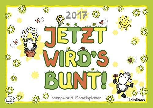 sheepworld Monatsplaner 2017