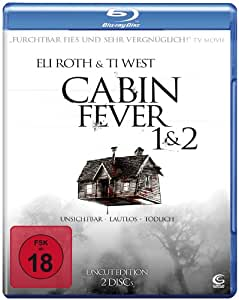 Cabin Fever 1+2 - Uncut Edition (2 Blu-rays)