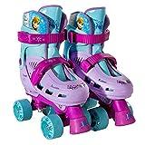 Frozen Size 1 - 4 Kids Classic Quad Roller Skates