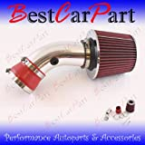 51Pc3KIuysL. SL160  92 93 94 95 96 97 98 Pontiac Bonneville 3.8l Short Ram Intake Red (Inclued Air Filter) #Sr ch004r