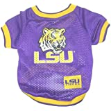 NCAA Dog Jersey, Medium, Louisiana State University Tigers