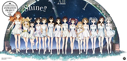 ​THE IDOLM@STER CINDERELLA GIRLS ANIMATION PROJECT 2nd Season 01 Shine!!【初回限定盤CD+Blu-ray】​