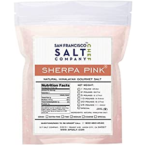 Sherpa Pink Gourmet Himalayan Salt (5lb Bag Fine Grain)