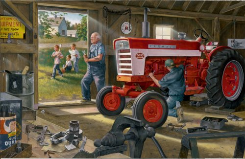 Cheap Great American Farmall Red Power – 1000pc Jigsaw Puzzle by Great American Puzzle Factory (B00204P004)