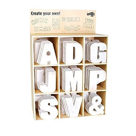 Ampio display Legler lettere mobili in legno per bambini