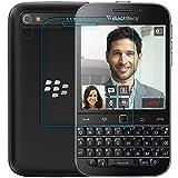 【VSTN】BlackBerry Classic Q20 専用 強化ガラス フィルム 超耐久 超薄型 指紋防止 気泡防止 高透過率 液晶保護フィルム【表面硬度9H・ラウンド処理・飛散防止処理】 (BlackBerry Classic Q20, ガラスフィルム)