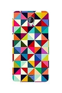 ZAPCASE BACK COVER FOR MICROMAX A106 Multicolor