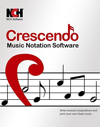 Crescendo Music Notation Software for Mac for Music Score Writing and Composing [Download] (Mac Writing Software compare prices)