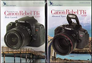 Blue Crane Digital Canon Rebel T4i DVD Training Bundle with Basic Controls & Advanced Topics