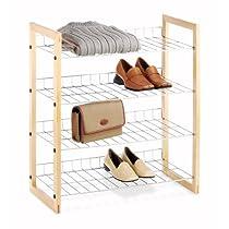Whitmor Chromed Wire Closet Shelves